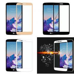 Protector pantalla Cristal Templado Completo para LG K4 2017 / K8 2017