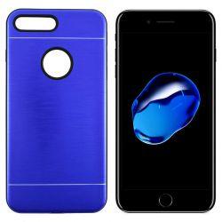 Funda trasera Metal, Aluminio y TPU para iPhone 7 Plus / 8 Plus Azul