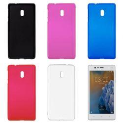 Funda Trasera de TPU Mate para Nokia 3 Silicona Flexible