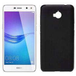 Funda de TPU Mate Lisa para Huawei Y5 2017 / Y6 2017 Silicona Negro