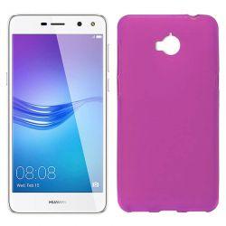 Funda de TPU Mate Lisa para Huawei Y5 2017 / Y6 2017 Silicona Rosa