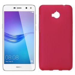 Funda de TPU Mate Lisa para Huawei Y5 2017 / Y6 2017 Silicona Rojo