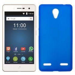 Funda de TPU Mate Lisa para ZTE Blade L7 Silicona flexible Azul