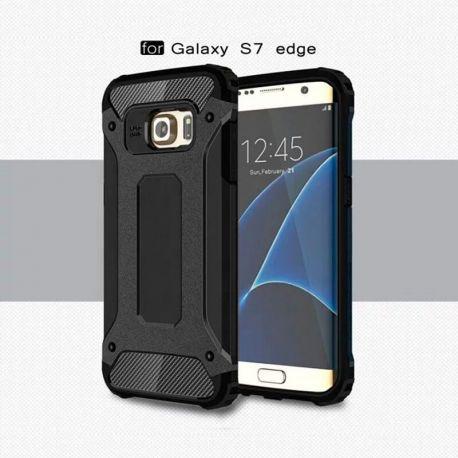 Funda tipo Tough Armor Tech para Samsung Galaxy S7 Edge Negro