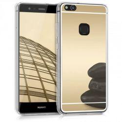 Funda Mirror Gel TPU efecto Espejo Huawei P10 Lite Dorado