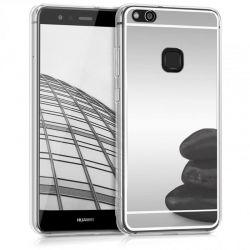Funda Mirror Gel TPU efecto Espejo Huawei P10 Lite Plata