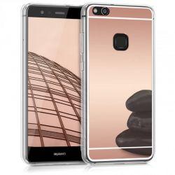 Funda Mirror Gel TPU efecto Espejo Huawei P10 Lite Oro Rosa