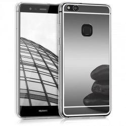 Funda Mirror Gel TPU efecto Espejo Huawei P10 Lite Gris