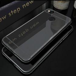 Funda Mirror Gel TPU efecto Espejo para Xiaomi Redmi 4X Gris
