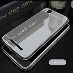 Funda Mirror Gel TPU efecto Espejo para Xiaomi Redmi 4A Plata