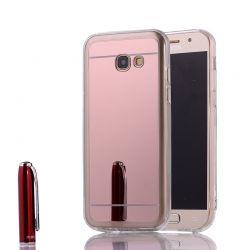 Funda Mirror Gel TPU efecto Espejo para Samsung Galaxy A3 2017 Rosa