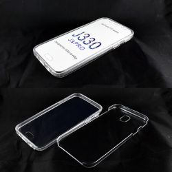 Funda TPU Doble 360 Frontal Trasera Sin Puntos Samsung Galaxy J3 2017