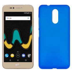 Funda de TPU Mate Lisa para Wiko U Pulse Silicona flexible Azul