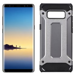 Funda Forcell Armor Tech híbrida para Samsung Galaxy Note 8 Gris
