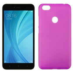 Funda de TPU Mate Lisa para Xiaomi Redmi Note 5A Prime Silicona Rosa