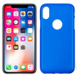 Funda de TPU Mate Lisa para iPhone X Silicona Azul