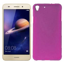 Funda de TPU Mate Lisa para Huawei Y6 II Silicona Rosa
