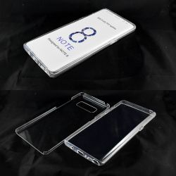 Funda TPU Doble 360 Frontal Trasera Sin Puntos Samsung Galaxy Note 8