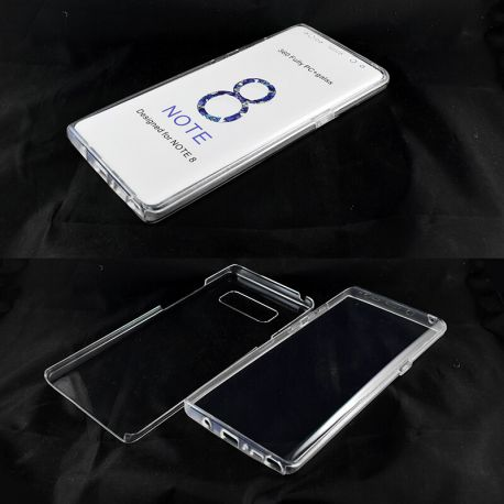 Funda TPU Doble 360 Frontal Trasera Sin Puntos Samsung Galaxy Note 8