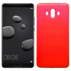 Funda de TPU Mate Lisa para Huawei Mate 10 Silicona Rojo