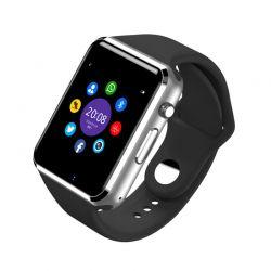Smartwatch A1 Bluetooth con Cámara, Altavoz, Micrófono y Sim Negro