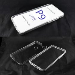 Funda TPU Doble 360 Frontal Trasera Sin Puntos para Huawei P9 Lite