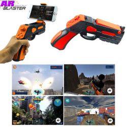 Pistola AR Blaster, Juegos realidad aumentada iPhone y Android Naranja