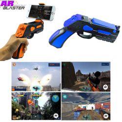 Pistola AR Blaster, Juegos realidad aumentada iPhone y Android Azul