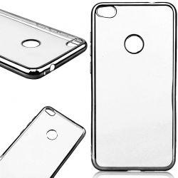 Funda con borde Negro Huawei P8 Lite 2017