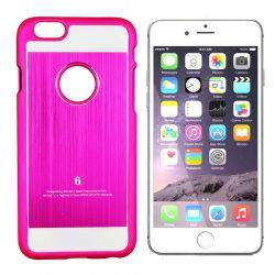 Funda Carcasa Trasera Dura de Aluminio Rosa para Iphone 6 y 6S