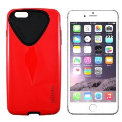 FUNDA HYBRID YOUYOU TPU Y PC IPHONE 6 PLUS y 6S PLUS ROJO