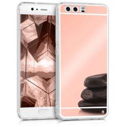 Funda Mirror Gel TPU efecto Espejo Huawei P10 Oro Rosa