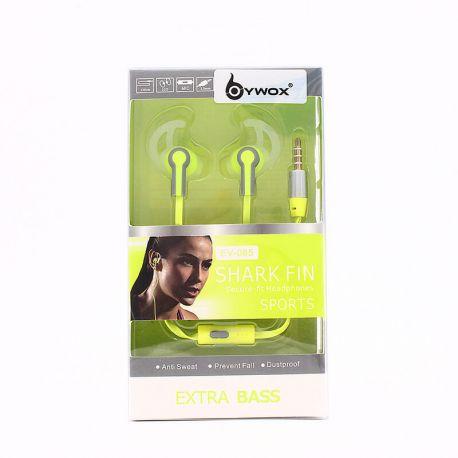 Auriculares manos libres in ear Extra Bass EV-085 ideales deporte