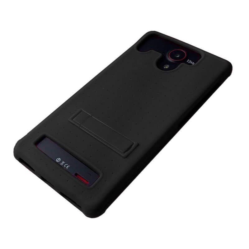 449a87db74e Funda Universal Negra de Silicona para Smartphones de 4 a 4,5 Pulgadas