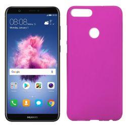 Funda de TPU Mate Lisa para Huawei P Smart Silicona Rosa