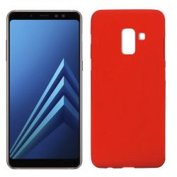 Funda TPU Mate Lisa Samsung Galaxy A8 2018 Silicona Flexible Rojo