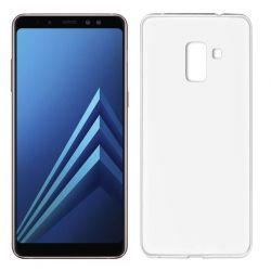 Funda TPU Mate Lisa Samsung Galaxy A8 2018 Silicona Flexible Blanco