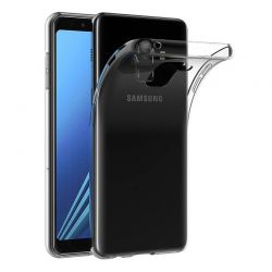 Funda TPU silicona Transparente Samsung Galaxy A8 2018