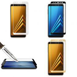 Protector pantalla de Cristal Templado Completo Samsung Galaxy A8 2018
