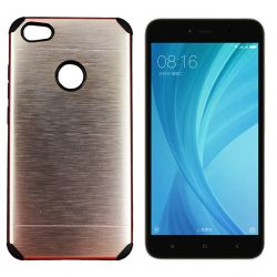 Funda trasera Metal, Aluminio y TPU Dorado Xiaomi Redmi Note 5A Prime