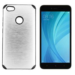 Funda trasera Metal, Aluminio y TPU Plata - Xiaomi Redmi Note 5A Prime