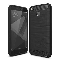 Funda TPU Forcell Carbon con diseño fibra carbono - Xiaomi Redmi 4X