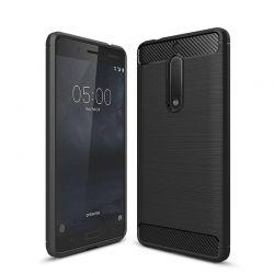 Funda TPU Forcell Carbon con diseño fibra de carbono - Nokia 5