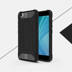 Funda Forcell Armor Tech Negro híbrida - Xiaomi Redmi Note 5A