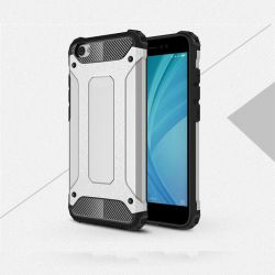 Funda Forcell Armor Tech Plata híbrida - Xiaomi Redmi Note 5A