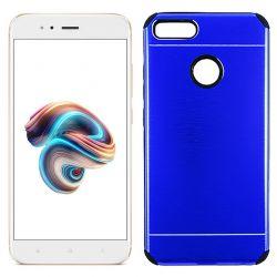 Funda de Aluminio y Silicona Azul Antishock Xiaomi Mi 5X / MI A1