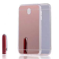 Funda Mirror Gel TPU efecto Espejo Samsung Galaxy J5 2017 Rosa