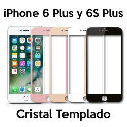 Protector pantalla Cristal Templado Completo - iPhone 6 Plus y 6S Plus