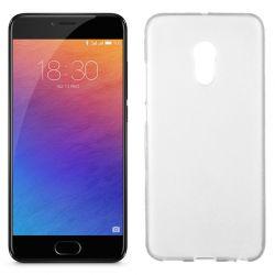 Funda de TPU Mate Lisa para Meizu Pro 6 Silicona Flexible Blanco