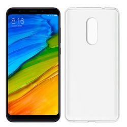 Funda de Silicona Mate y Lisa para Xiaomi Redmi 5 Blanco
